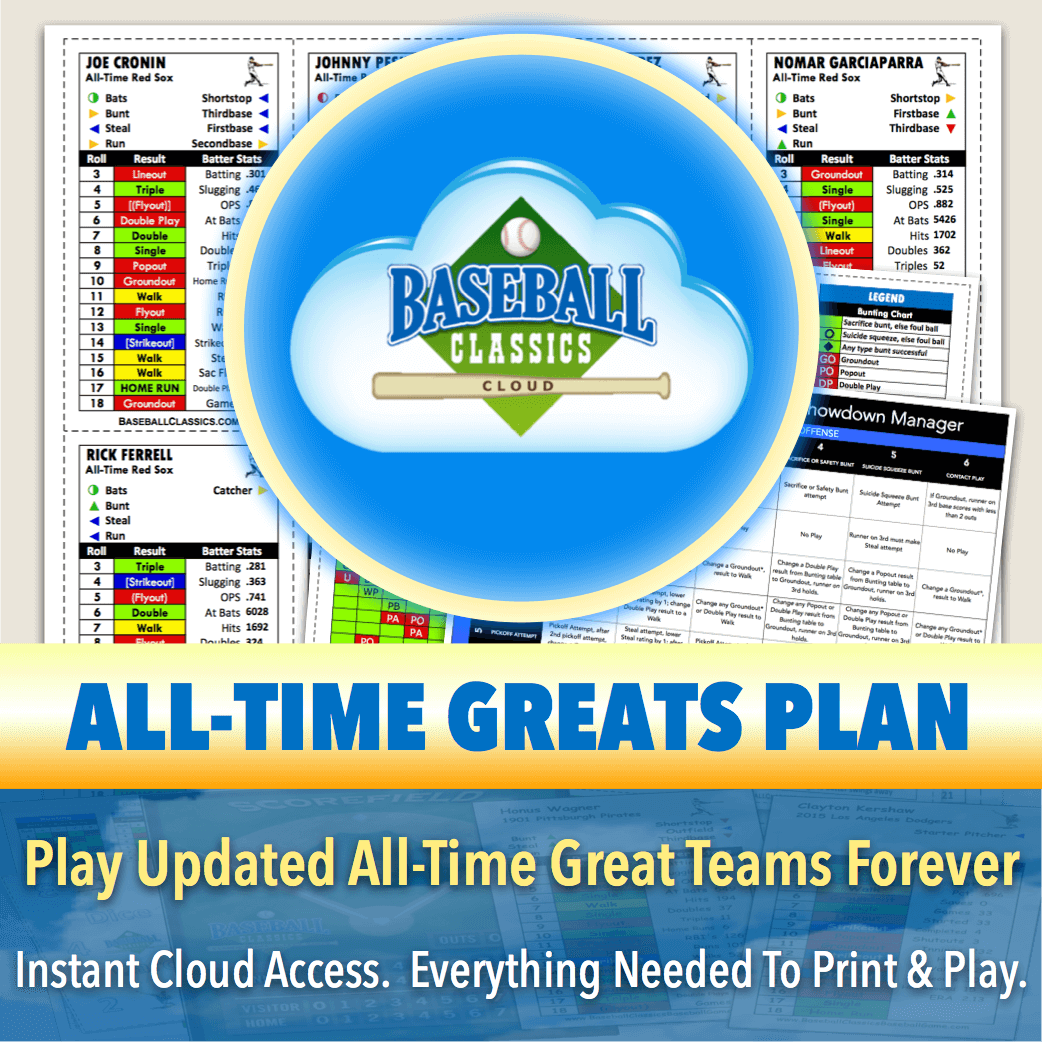 All-Time Greats Lifetime Plan