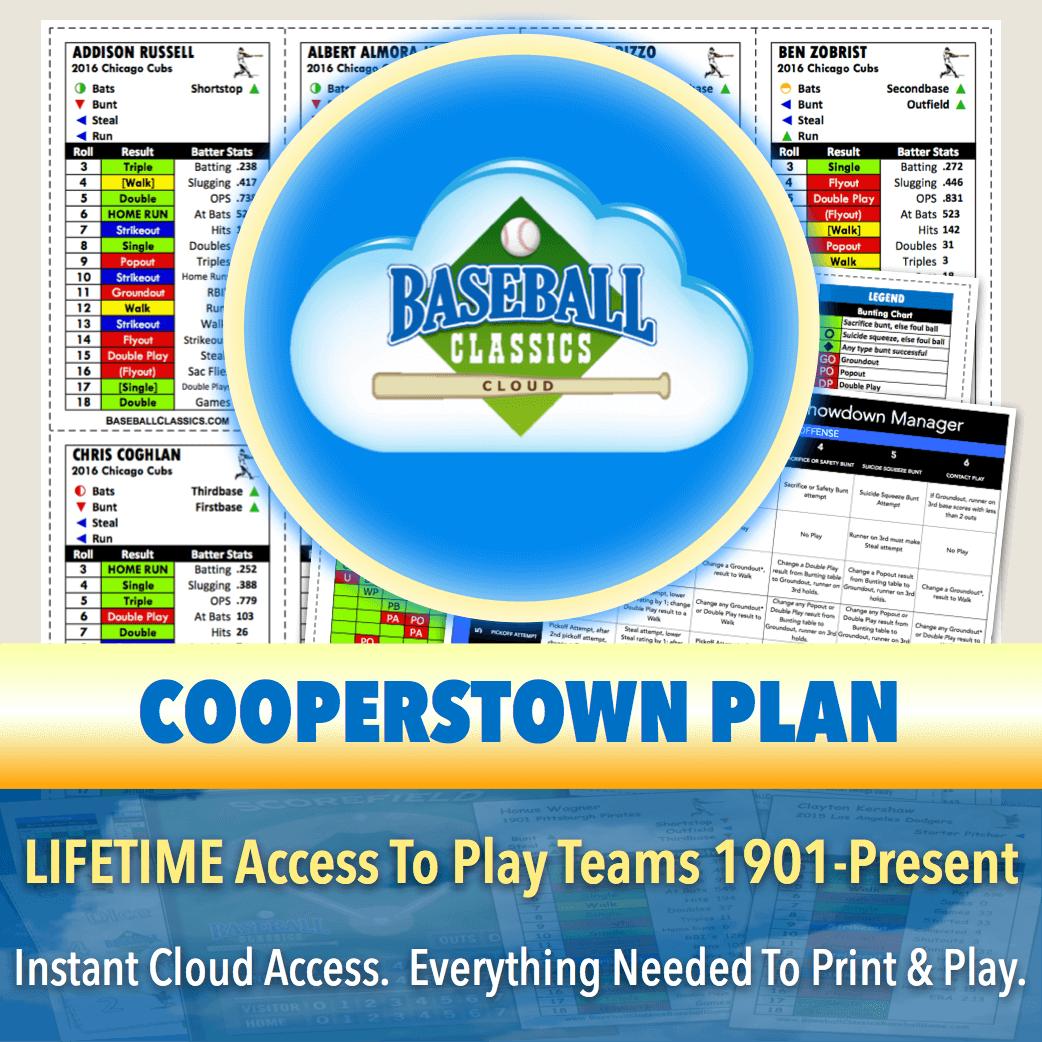 Cooperstown Lifetime Plan