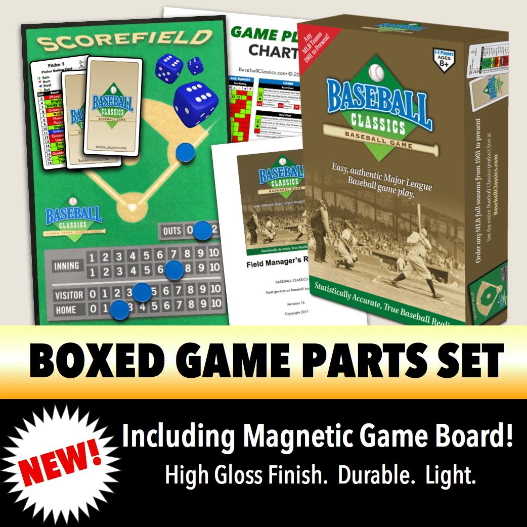Baseball Classics Boxed Game Parts Set
