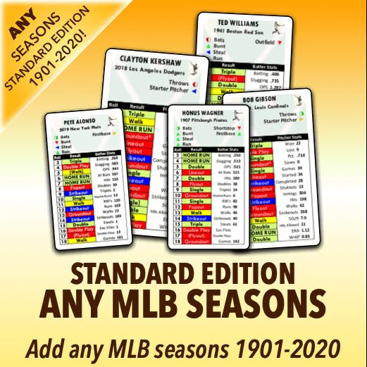 Any MLB Seasons Standard Edition