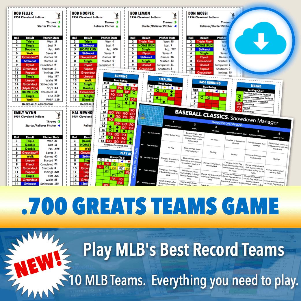 Baseball Classics .700 Greats Game Download
