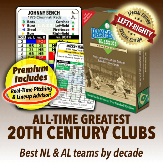 All-Time Greatest 20th Century Clubs Game