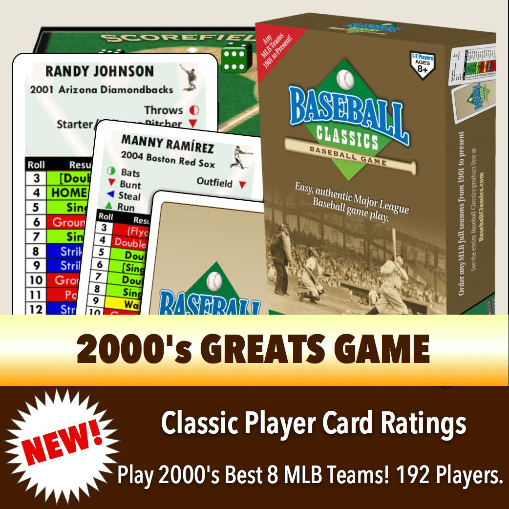 Baseball Classics 2000's Greats Boxed Game