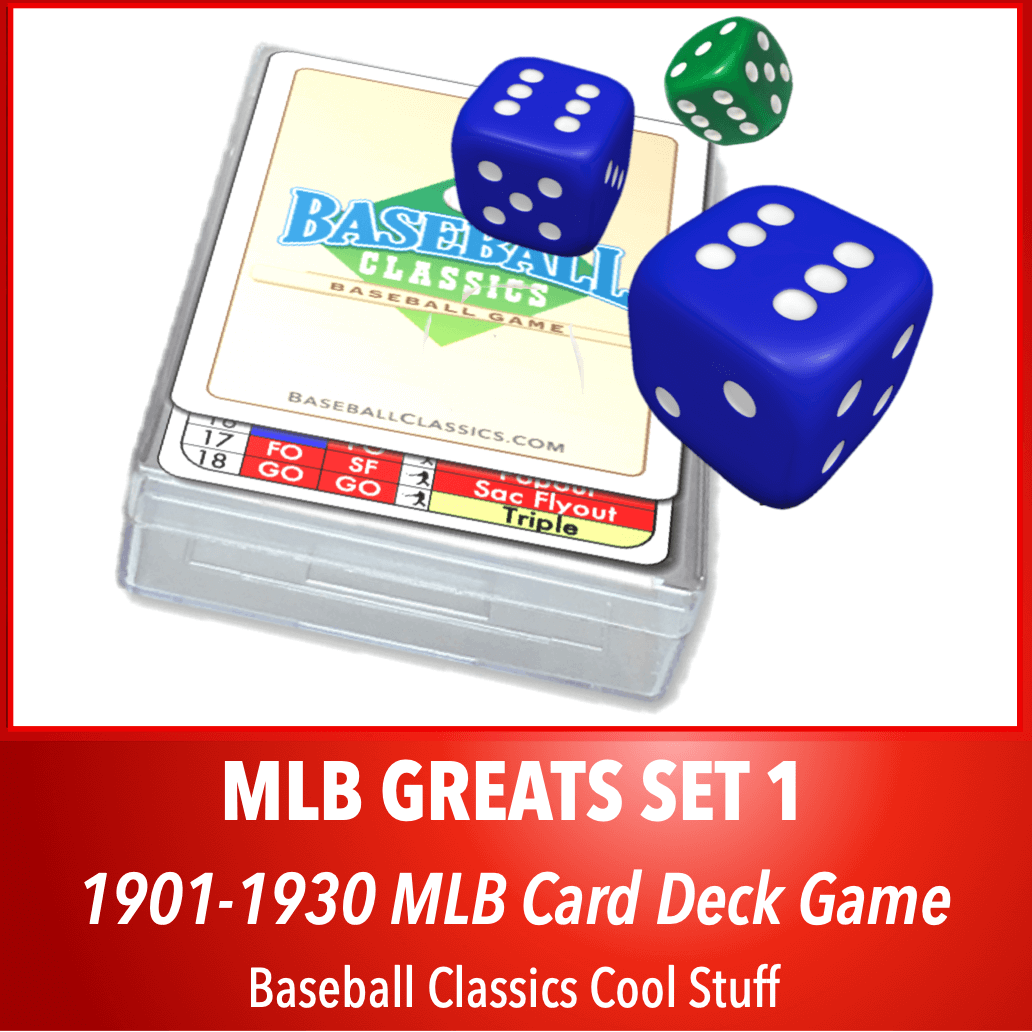 Baseball Classics MLB Greats Card Deck Set 1