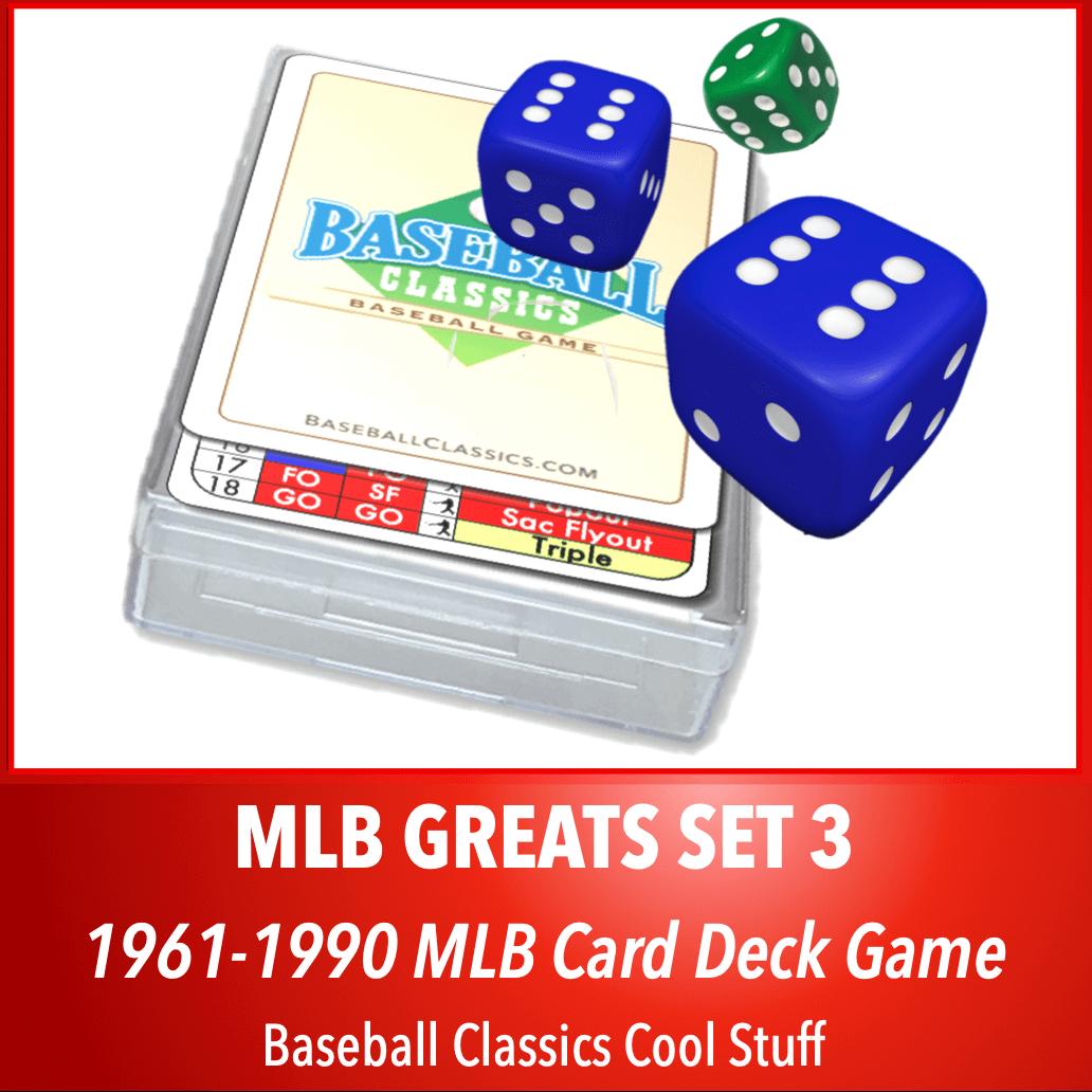 Baseball Classics MLB Greats Card Deck Set 3
