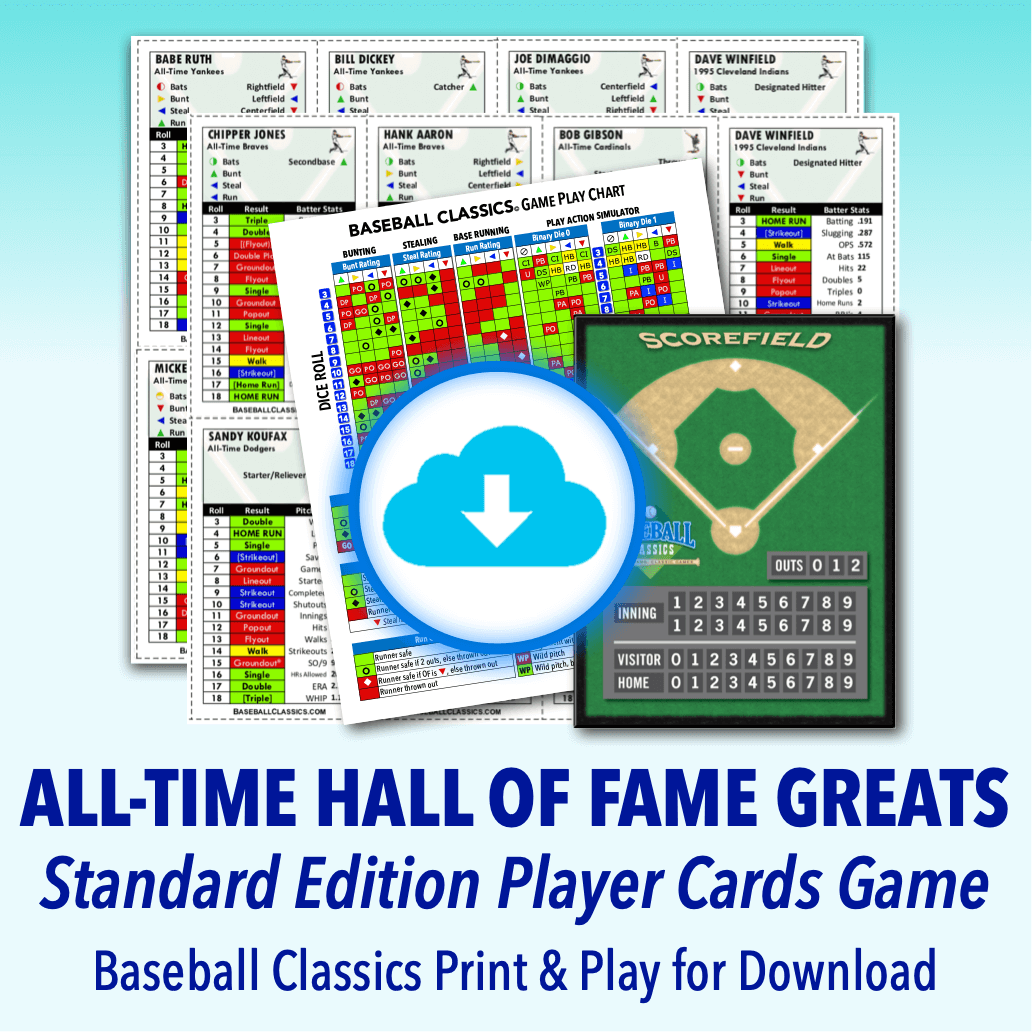 All-Time Greatest HOF Standard Edition Game Print & Play