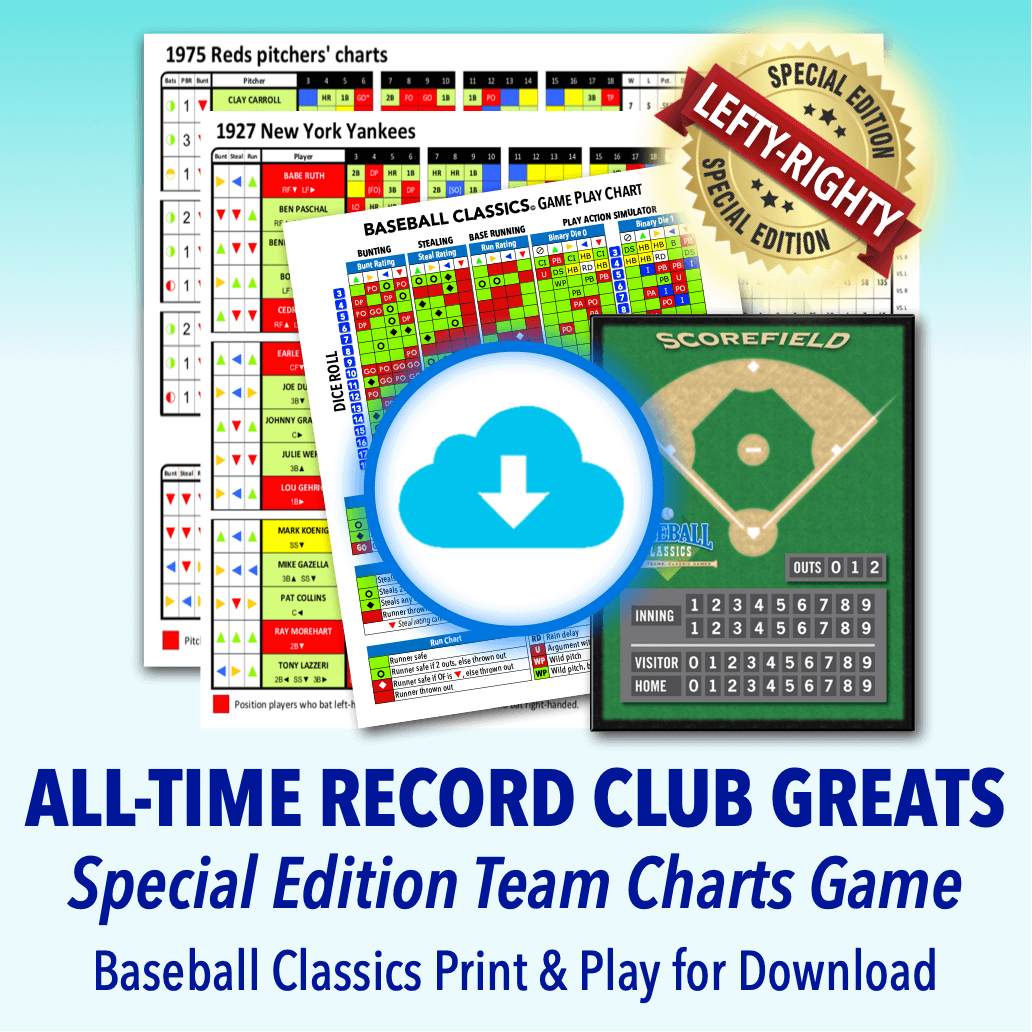 All-Time Record Club Greats Team Charts Game download