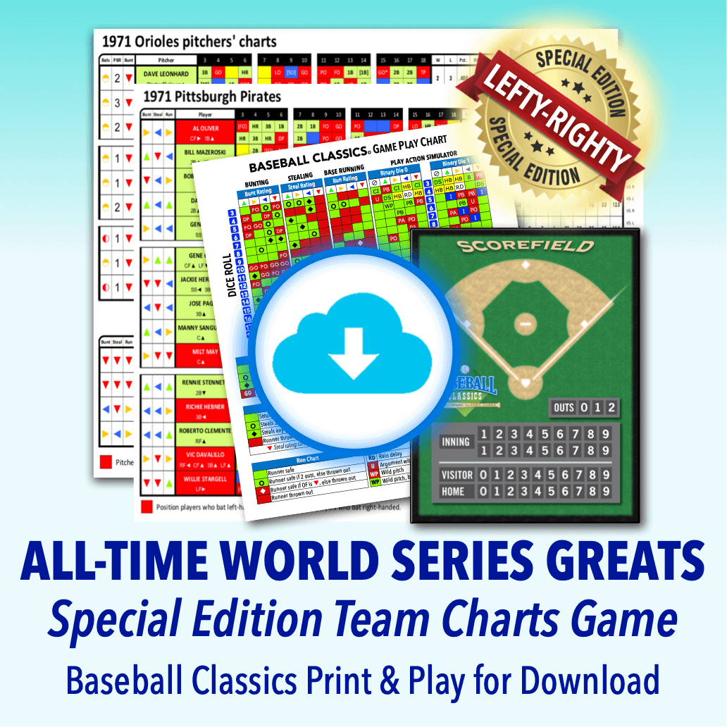 All-Time World Series Greats Team Charts Game download