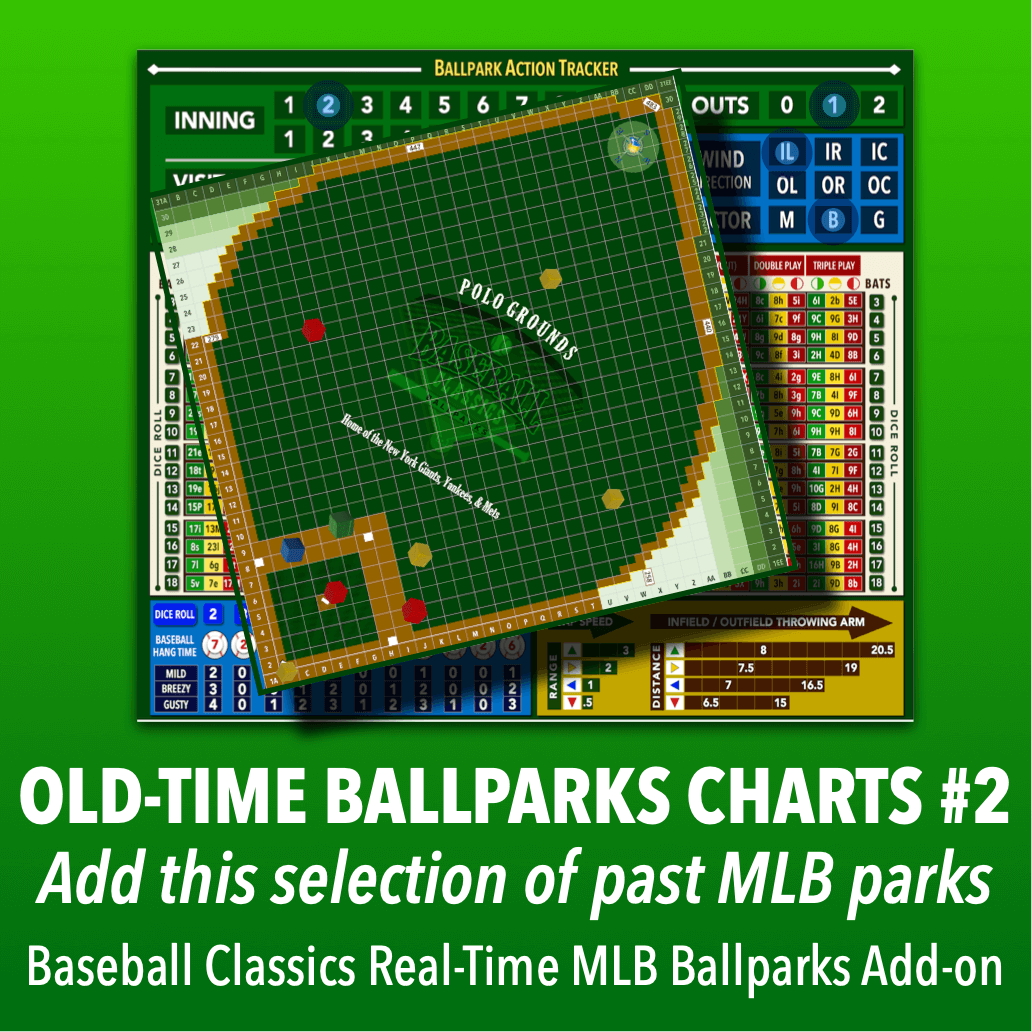 Real-Time Ballparks Old-Time MLB Charts Group #2