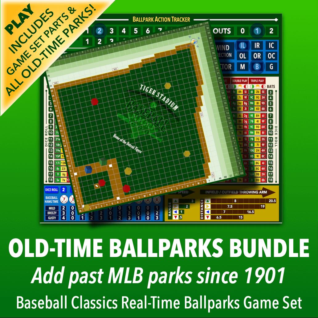 Real-Time Ballparks Old-Time Bundle