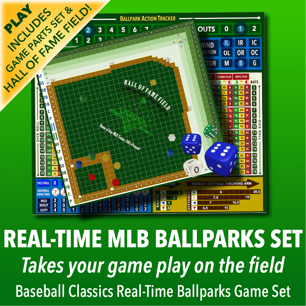 Real-Time Ballparks Game Parts Set