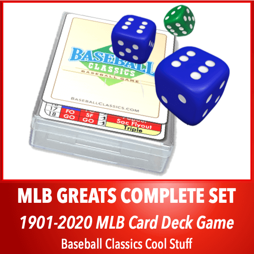 BC MLB Greats Card Deck Game Complete Collectors Set