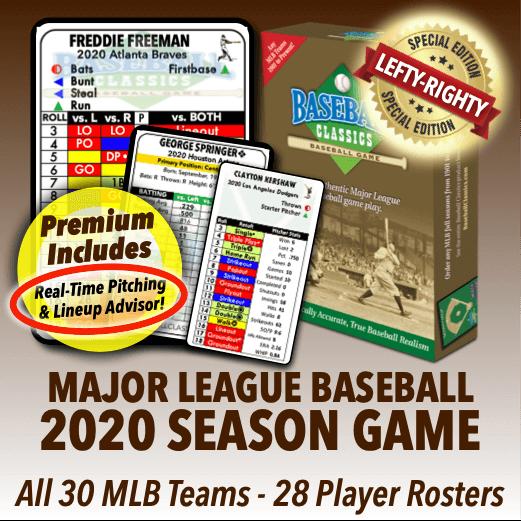 2020 Major League Baseball Season Game