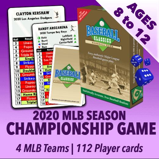 Baseball Classics for Kids MLB 2020 Championship Game