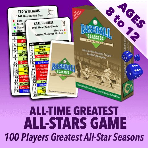 Baseball Classics for Kids MLB All-Time All-Star Greats